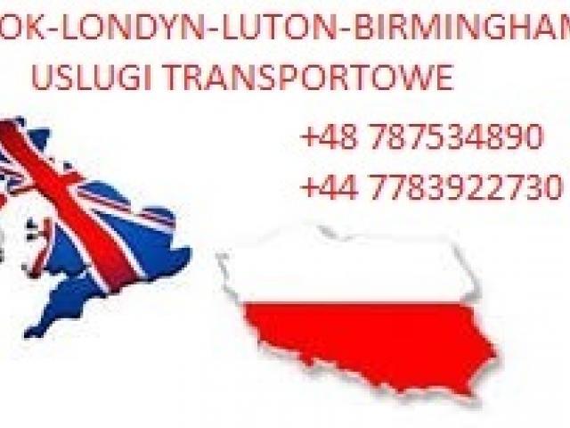 Przewóz osób,paczek,przeprowadzki Polska-Anglia